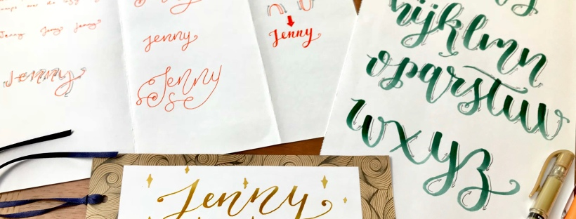 Beginners Guide To Modern Calligraphy Hand Lettering Easy Craft Activity For All Ages Pastel Inspire